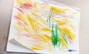 a childs drawing