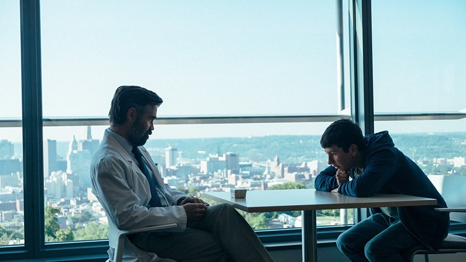 Colin Farrell and Barry Keoghan in 'The Killing of a Sacred Deer'