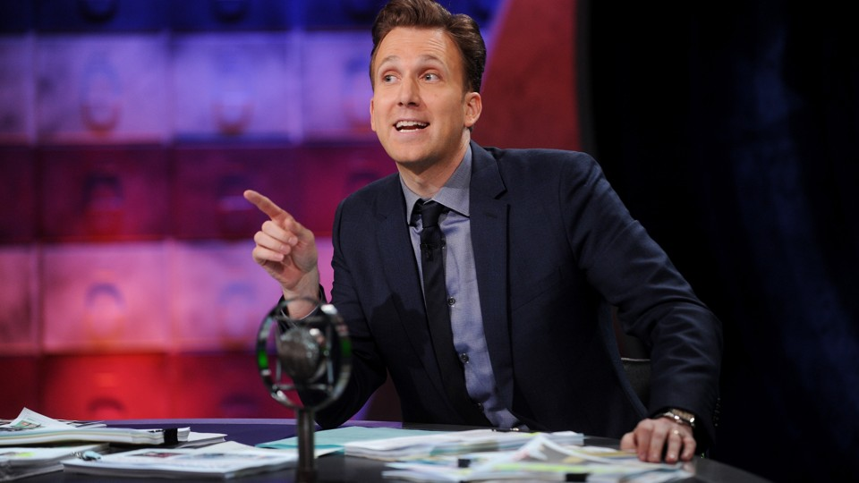 Jordan Klepper, the host of 'The Opposition,' at ...