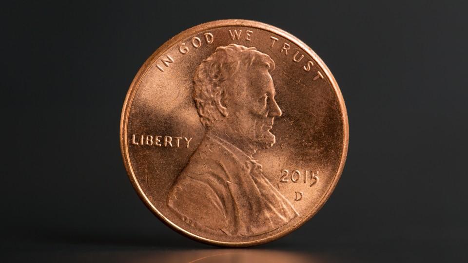 A penny