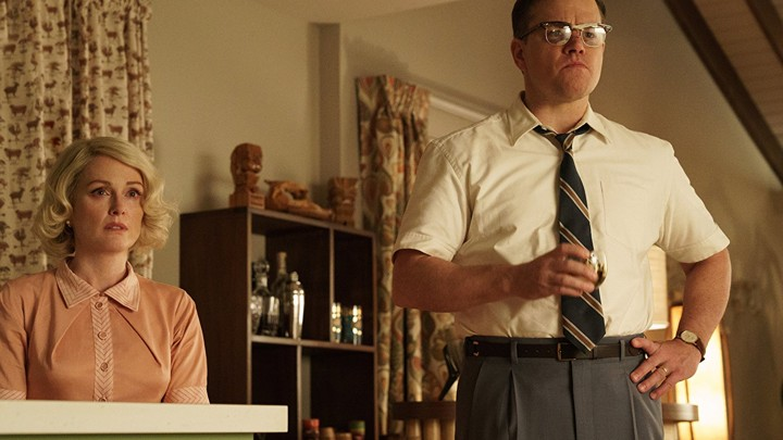 Julianne Moore and Matt Damon in George Clooney's 'Suburbicon'