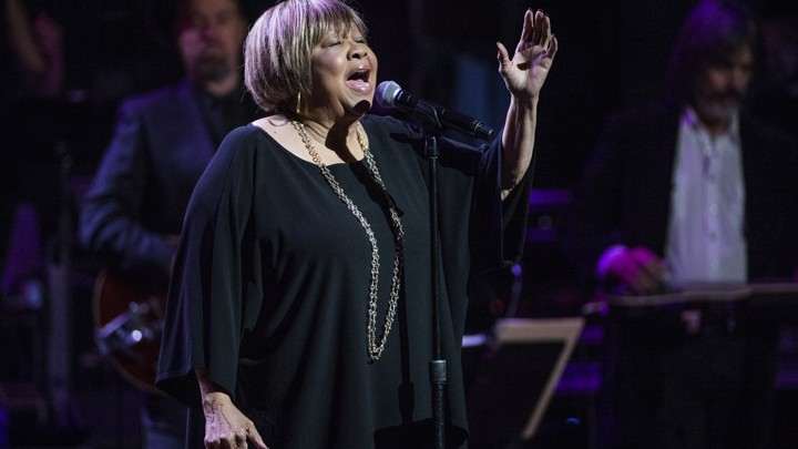 Mavis Staples performs in New York City in 2017