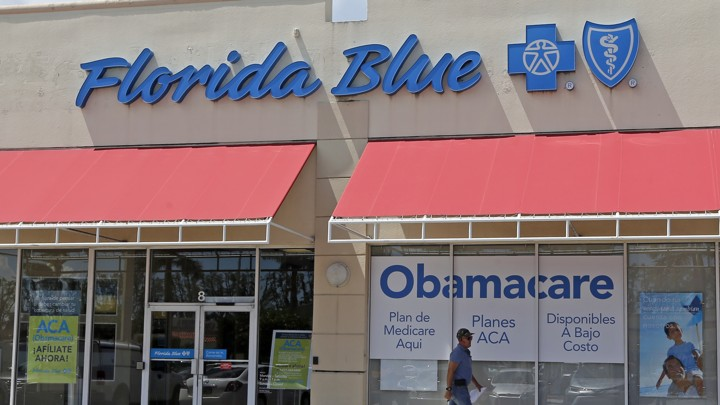 A Blue Cross Blue Shield office in Florida