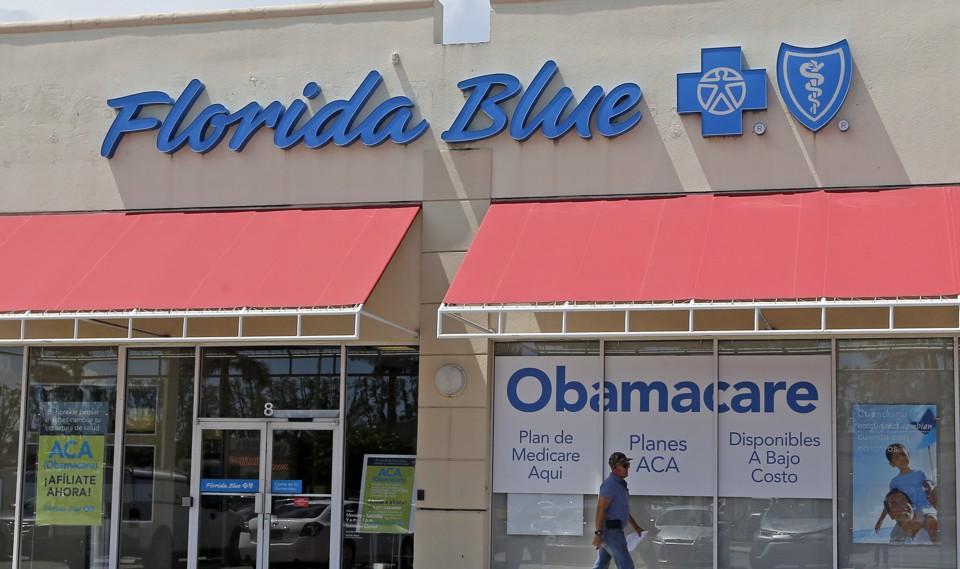 A Blue Cross Blue Shield office in Florida