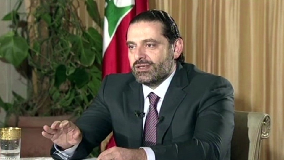 Image result for lebanon prime minister punish in saudi