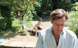 Timothée Chalamet and Armie Hammer in 'Call Me by Your Name'