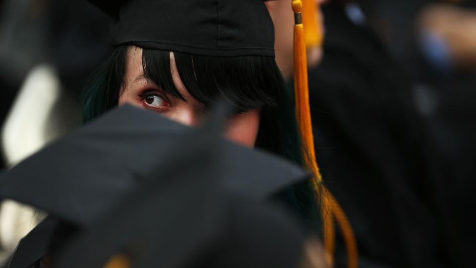 The gender gap in college education the atlantic spencer platt getty sciox Gallery