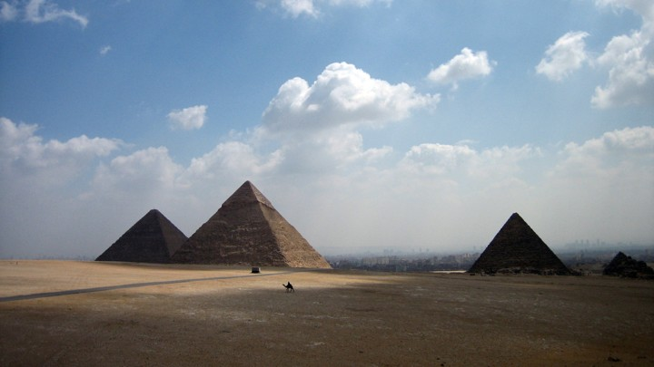 The Giza pyramid complex