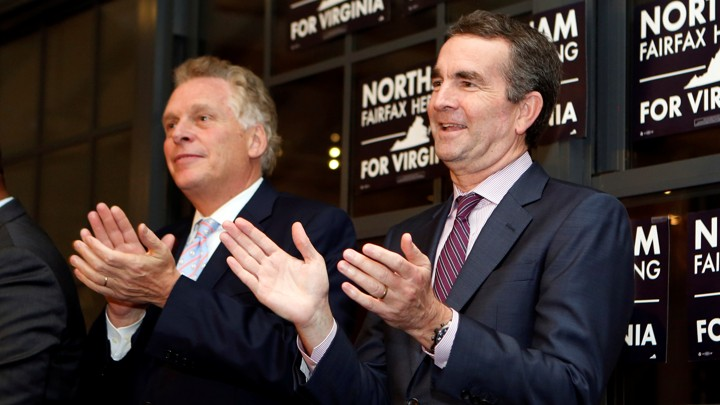 Virginia governors race