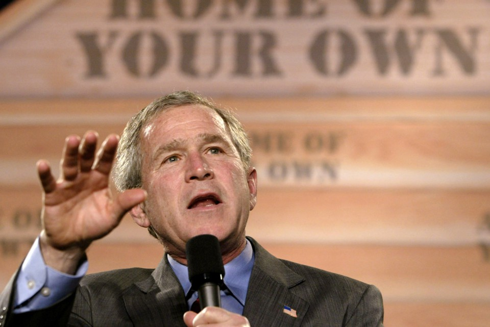 the ownership society in america under the administration of bush