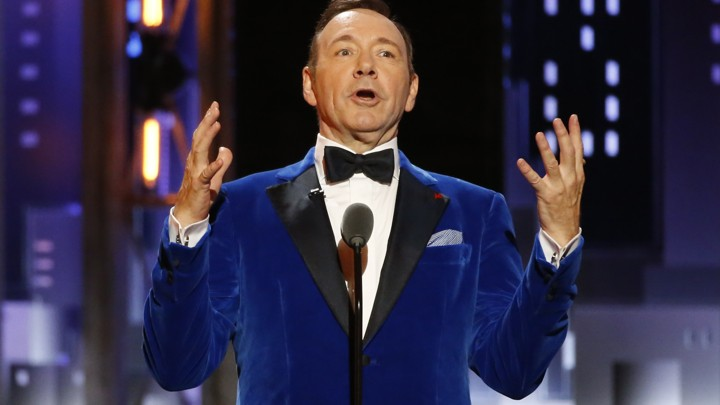 Kevin Spacey at the 2017 Tony Awards