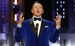 Kevin Spacey at the 2017 Tony Awards