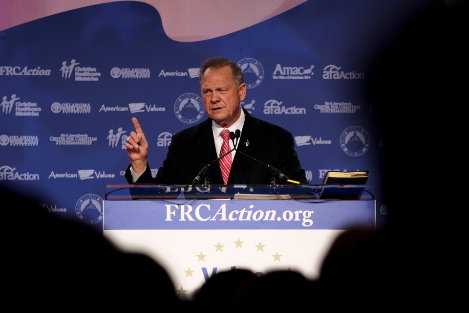 Roy Moore and the Republican Moral Dilemma (Atlantic)
