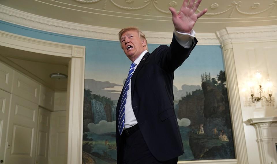 Trumps Risky Unearned Sanctimony About Al Franken The Atlantic - Al franken draws us map