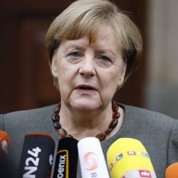 German Chancellor Angela Merkel pictured in Berlin, Germany on November 16, 2017.