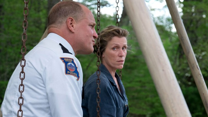 Woody Harrelson and Frances McDormand in 'Three Billboards Outside Ebbing, Missouri'