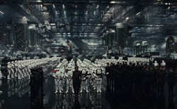 The First Order assembles in Disney's upcoming film 'Star Wars: The Last Jedi'