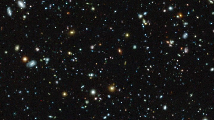 a flurry of newly discovered galaxies the atlantic