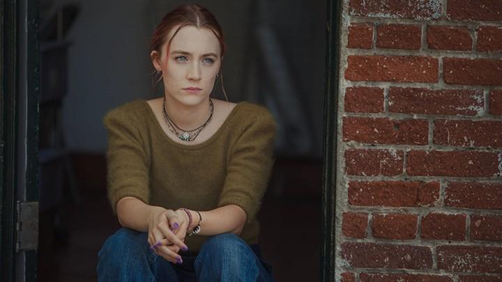 Saoirse Ronan in a still from 'Lady Bird'