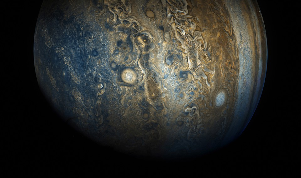 Jupiter, up close and processed