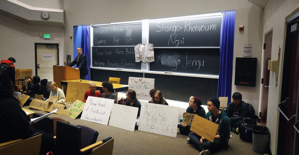 Students Protest Intro Humanities Course at Reed - The Atlantic