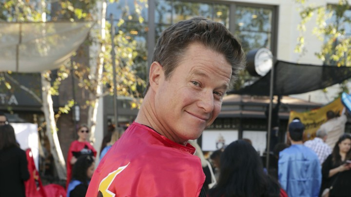 Billy Bush seen at The Lollipop Super Hero Walk 2017 benifiting the Lollipop Theatre Network at The Grove shopping center in April of 2017, in Los Angeles.