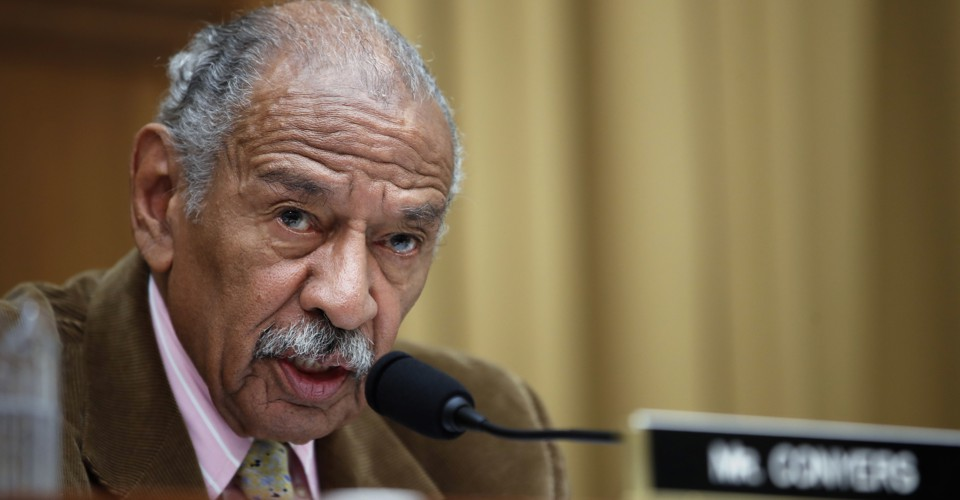 photo image John Conyers Won't Seek Re-Election