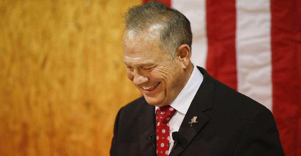 photo image The Republican Party Slinks Back to Roy Moore