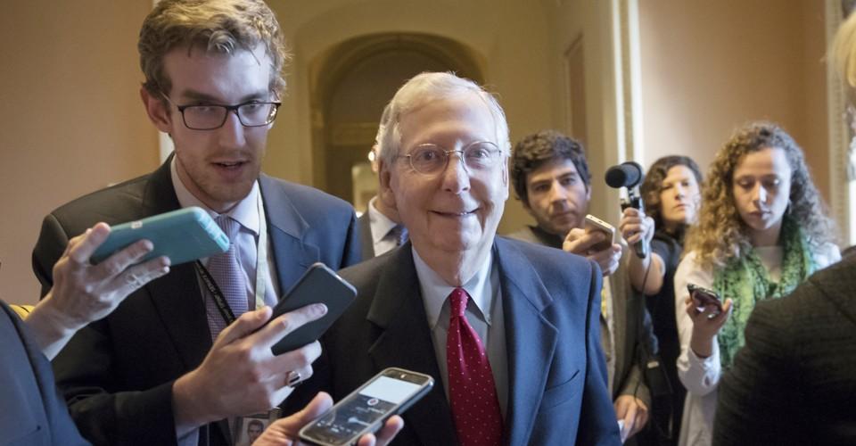Senate Republicans Pass Their Tax Cuts