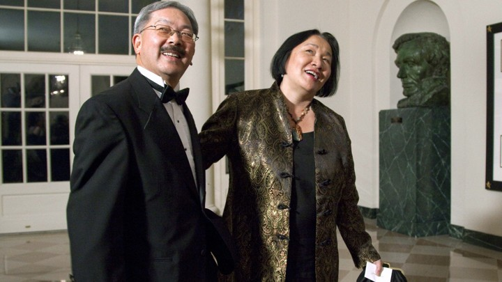 Ed Lee and Jean Quan