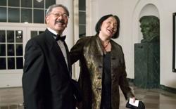 Ed Lee and Jean Quan