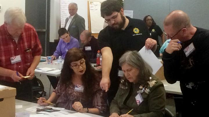 Virginia recount