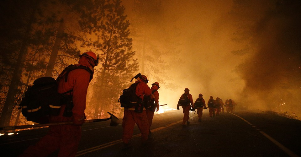 photo image How Much Longer Will Inmates Fight California's Wildfires?