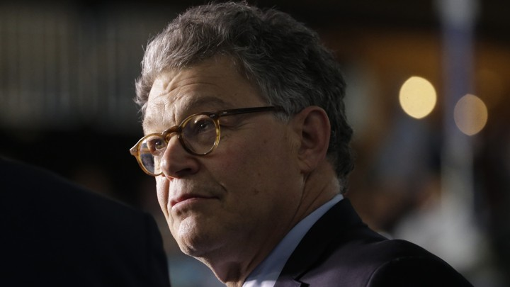 Senator Al Franken To Resign Amid Sexual Misconduct Allegations - Al-franken-draws-us-map
