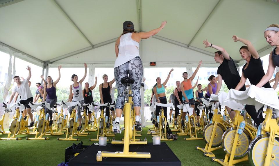 The Consumerist Church of Fitness Classes The Atlantic