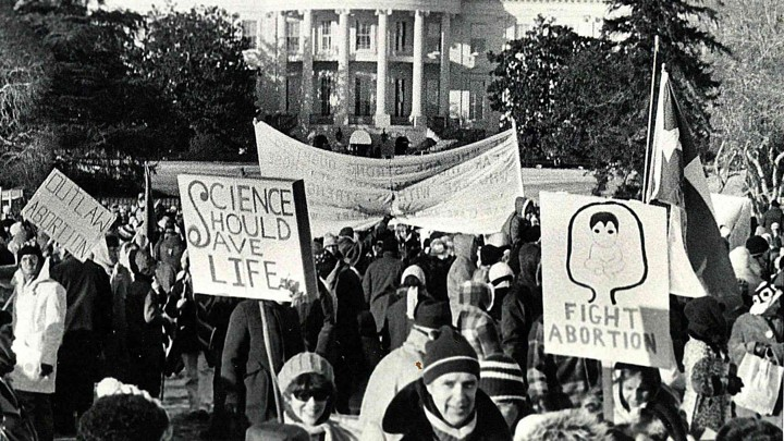 How To Write An Essay In High School A S March For Life Protest In Front Of The White Housecourtesy Of March  For Life English Essays For Students also Examples Of Essay Proposals Science Is Giving The Prolife Movement A Boost  The Atlantic Thesis Example For Compare And Contrast Essay