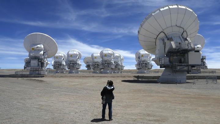 The Atacama Large Millimetre/Submillimetre Array (ALMA) in Chile