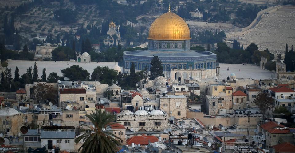 photo image 'Jerusalem Is Not the Explosive Device—It's the Detonator'