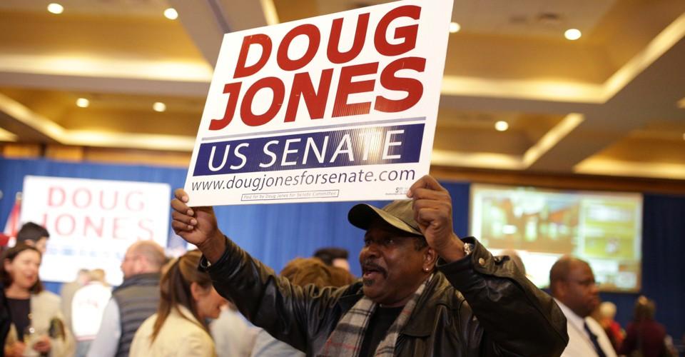Black Voters Put Doug Jones in the U.S. Senate