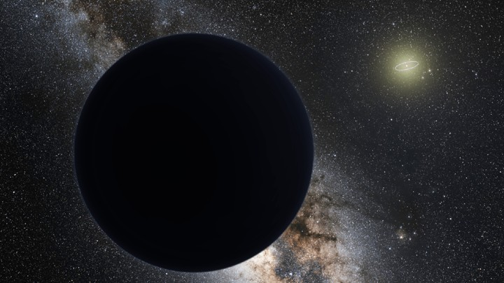 Artist's interpretation of Planet Nine