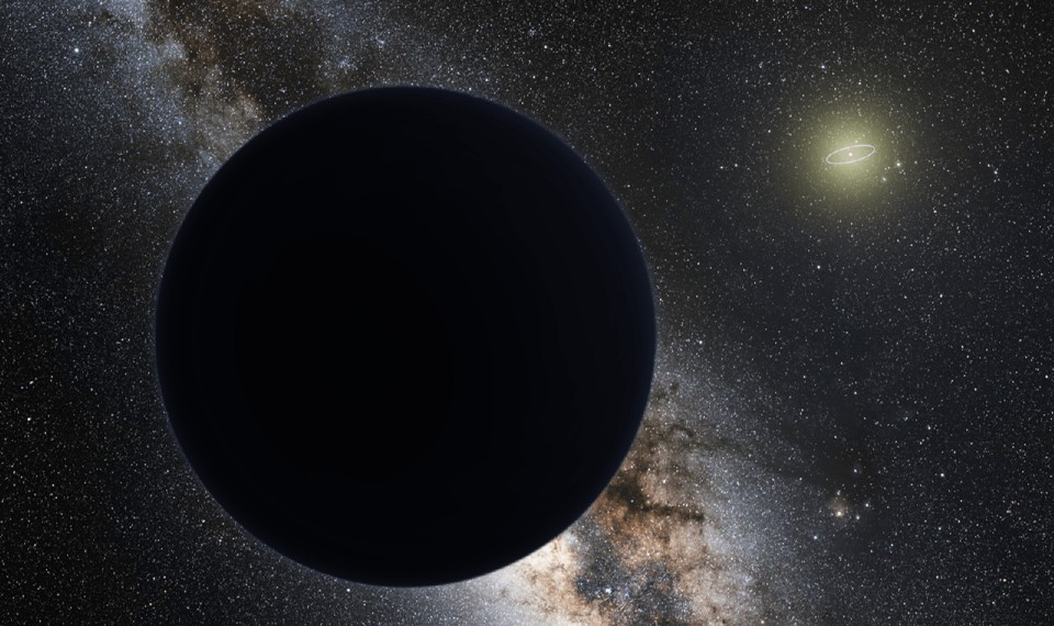 Artist's interpretation of Planet Nine
