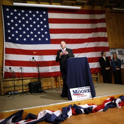 Roy Moore will face off against Doug Jones on Tuesday in the Alabama Senate race
