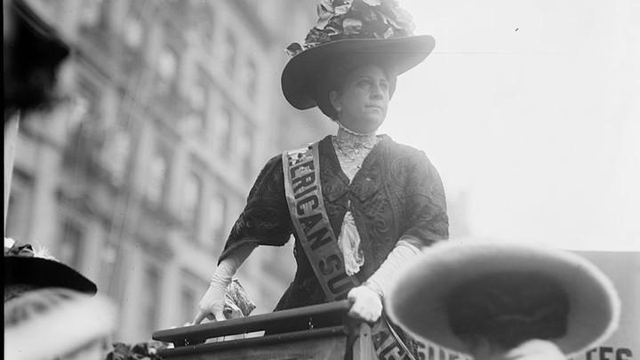 The suffragette Sophia Loebinger