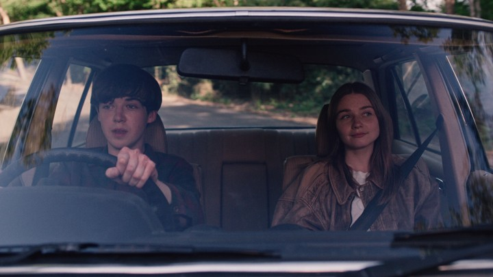 Alex Lawther and Jessica Barden in Netflix's 'The End of the F***ing World'