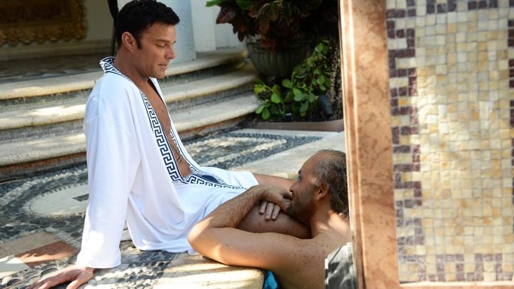 Ricky Martin and Édgar Ramírez in 'American Crime Story'