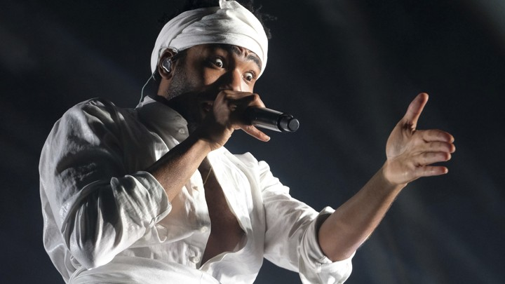 Childish Gambino, recording name of Donald Glover, is nominated for Album of the Year and Record of the Year.