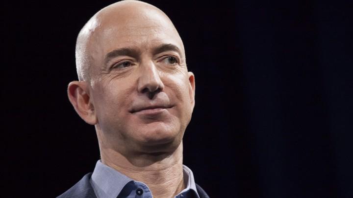 Jeff Bezos, Amazon's founder and CEO