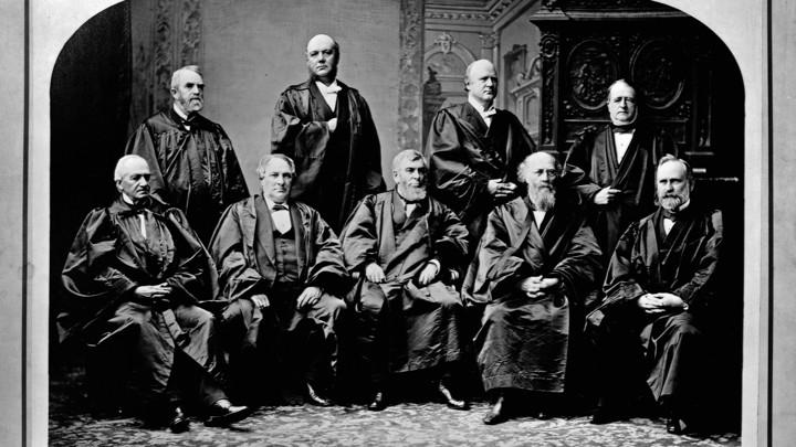 The 1882 Supreme Court