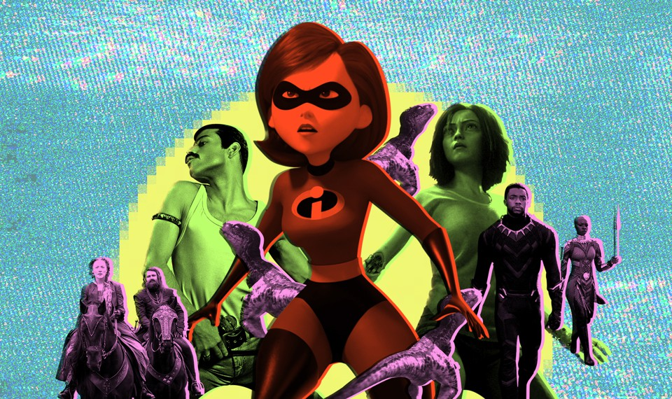 Characters from 'Incredibles 2,' 'Black Panther,' and more