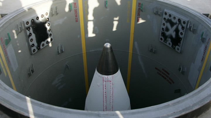 A long-rage ground-based missile silo